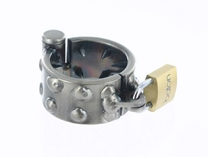 Kalis Teeth Spiked Chastity Device - (2 Rows) 1.75 Inch