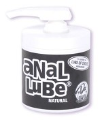 Anal Lube Natural 4.5 oz.