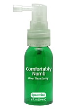 Comfortably Numb Deep Throat Spray 1 Fl. Oz. - Mint