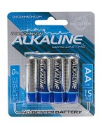Doc Johnson Alkaline Batteries AA 4-Pack