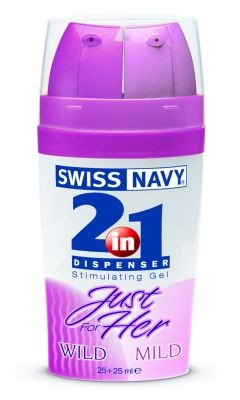 2-in-1 Dispenser: Just for Her Arousal Gel