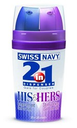 2-in-1 Dispenser: His and Hers Stimulating Gel