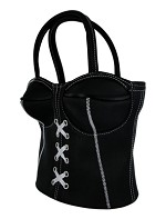 Corset Purse - Black