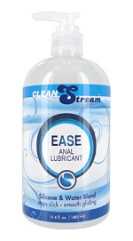 CleanStream Ease Hybrid Anal Lubricant, 16.4 oz.