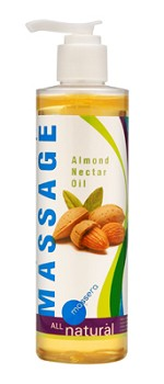 Massera Almond Nectar Massage Oil 8 oz.