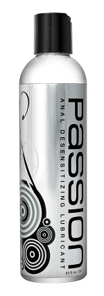 Passion Anal Desensitizing Lubricant with Lidocaine - 8.5 oz
