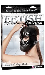 Fetish Fantasy Latex Ball Gag Mask