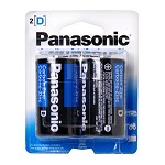 Panasonic D Batteries (2 Pack)