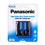 Panasonic AAA batteries (4 pack)