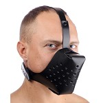 Adjustable Leather Dog Muzzle