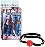 Fetish Fantasy Red Beginners Ball Gag