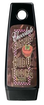 Chocolate-Strawberry Fantasy Body Topping