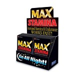 Max Stamina - Maximum Sexual Stimulant (1 Dose)