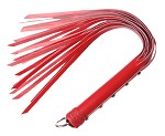 Strict Leather Red Flogger